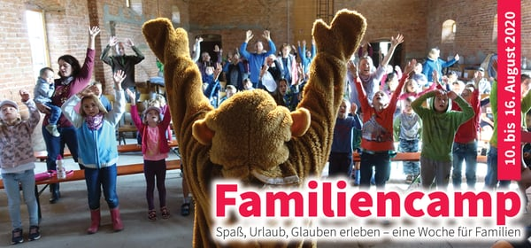 Flyer Familiencamp